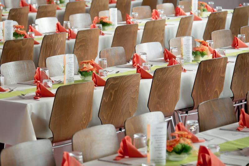 結婚式場の試食会